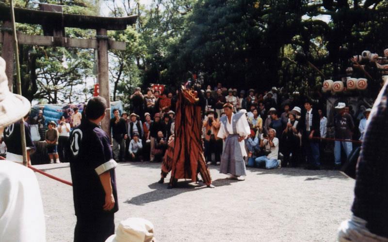 佐喜浜(さきはま)八幡宮秋祭