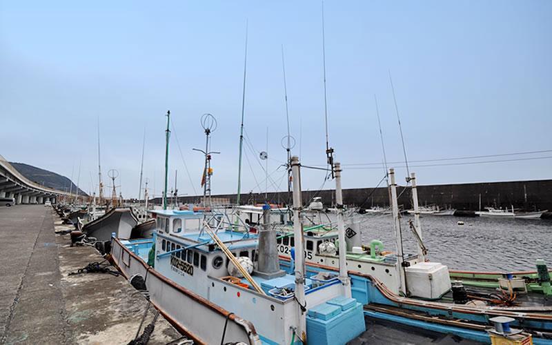室戸岬漁港(津呂港)