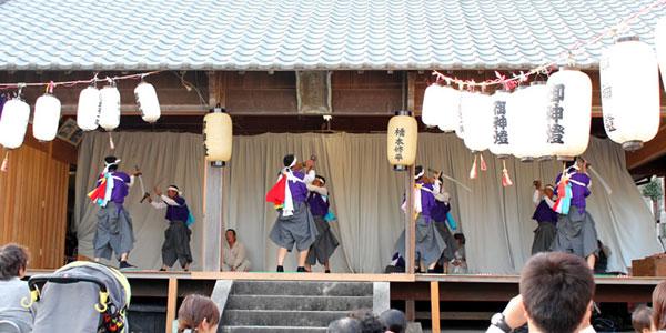 椎名(しいな)八王子宮秋祭