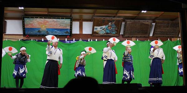 杉尾神社秋祭(三津:みつ)