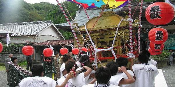 室津(むろつ)八幡宮秋祭